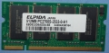 Elpida 512MB PC2700 DDR-333MHz